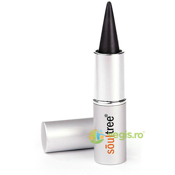 Creion Kajal Natural - Cold Black 3g SOULTREE