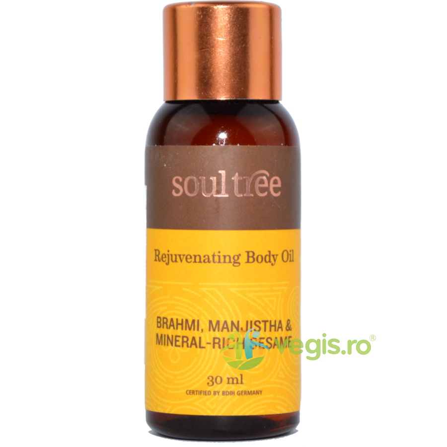 SOULTREE Ulei Antirid cu Brahmi si Manjistha MINI 30ml