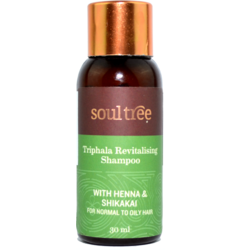Sampon Revitalizant cu Triphala MINI 30ml SOULTREE
