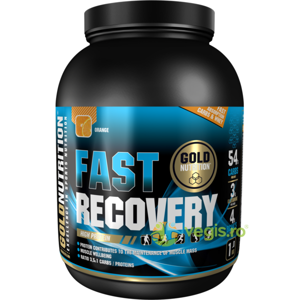 Fast Recovery Portocale 1kg GOLD NUTRITION