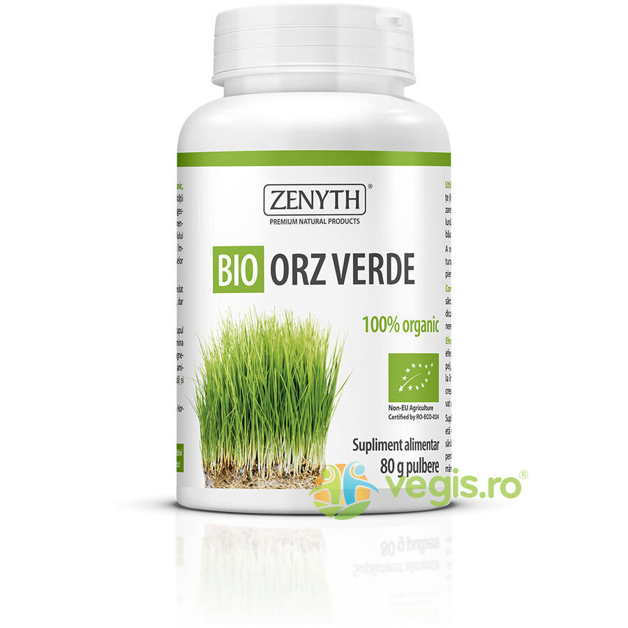 Orz Verde Pulbere Ecologic/Bio 80g thumbnail
