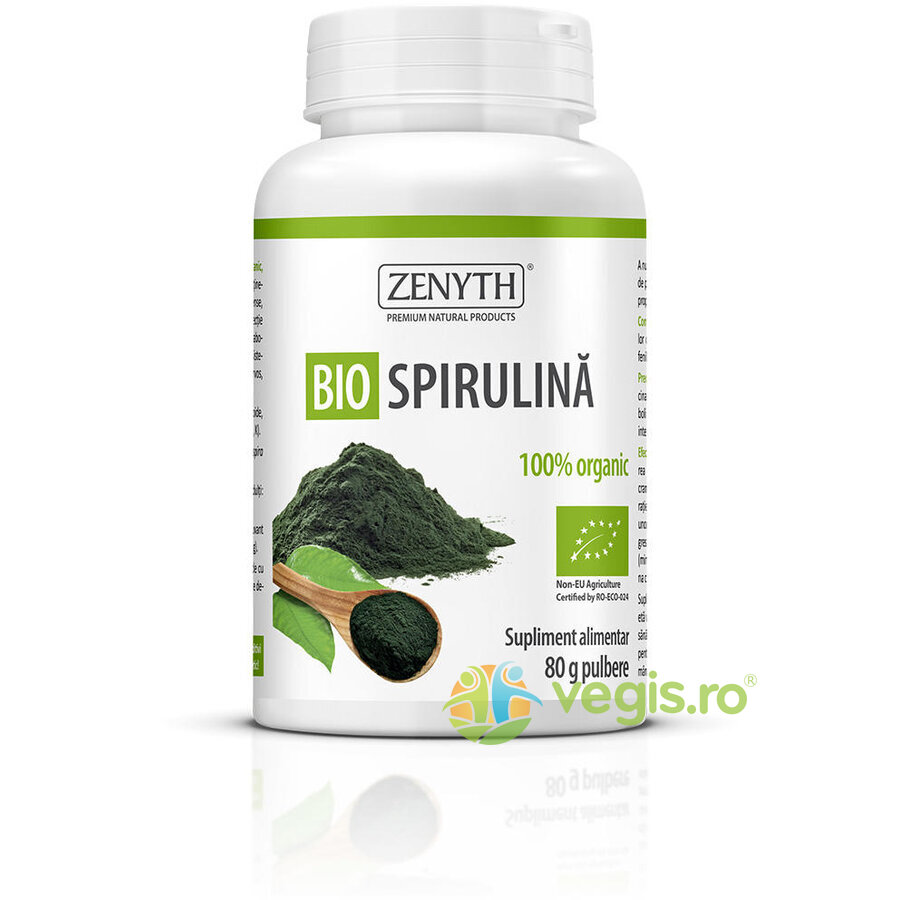 Spirulina Pulbere Ecologica/Bio 80g thumbnail