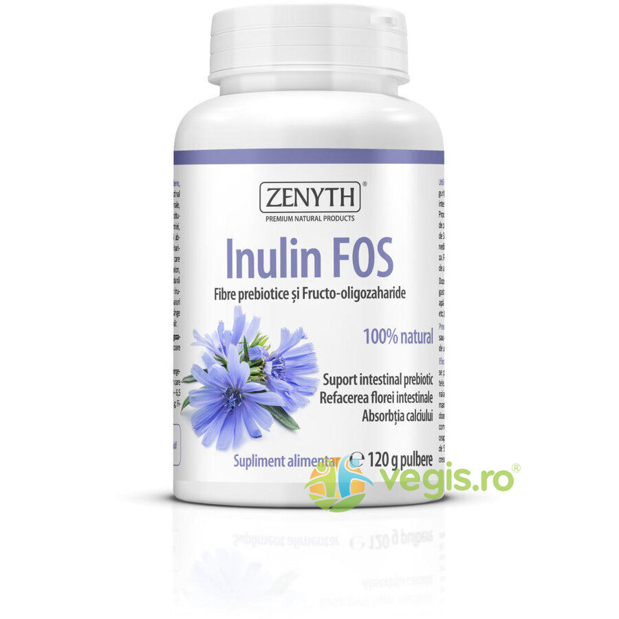 Inulin FOS Pulbere 120g thumbnail