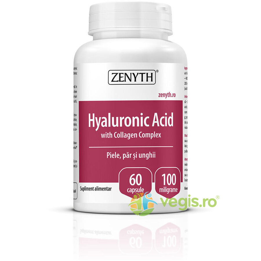 ZENYTH PHARMA Acid Hialuronic cu Colagen Complex 60cps