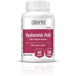 Acid Hialuronic cu Colagen Complex 60cps ZENYTH PHARMA