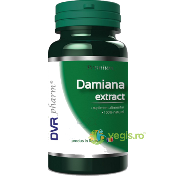 Damiana Extract 60cps DVR PHARM