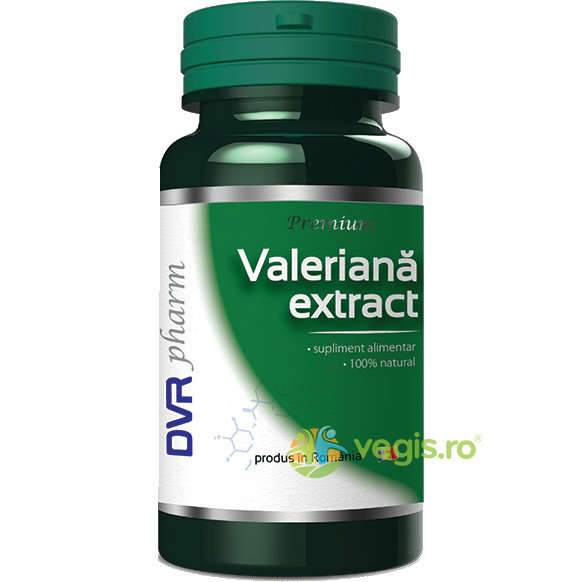 Valeriana Extract 60cps DVR PHARM