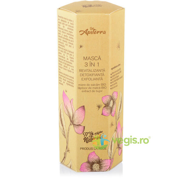 Masca de Fata 3in1 75ml APITERRA