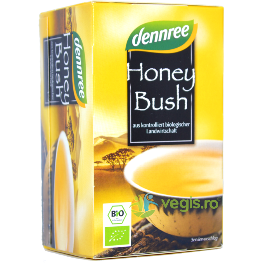 DENNREE Ceai Honeybush Ecologic/Bio 20 plicuri