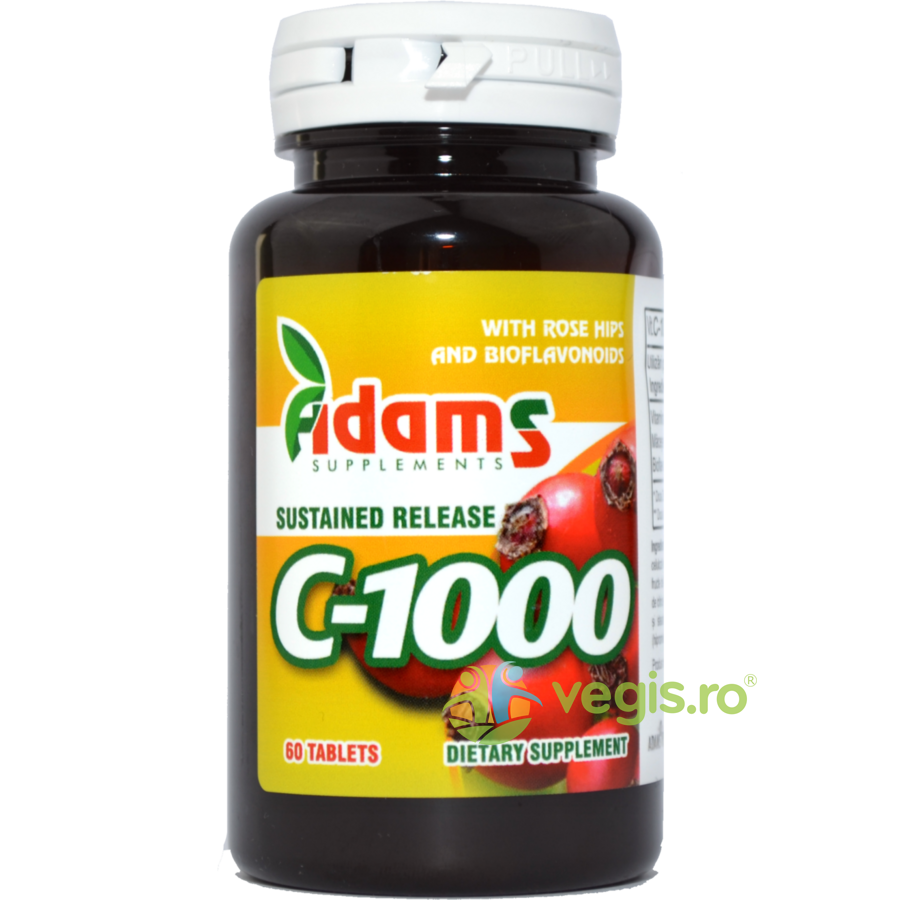 ADAMS VISION Vitamina C 1000mg Macese 60tb