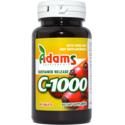 Vitamina C 1000mg Macese 60tb ADAMS VISION