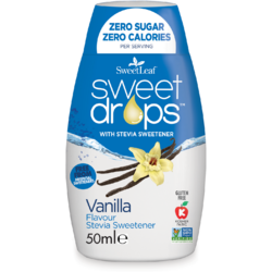 Sweet Drops Indulcitor Stevie Cu Vanilie 50ml SWEETLEAF
