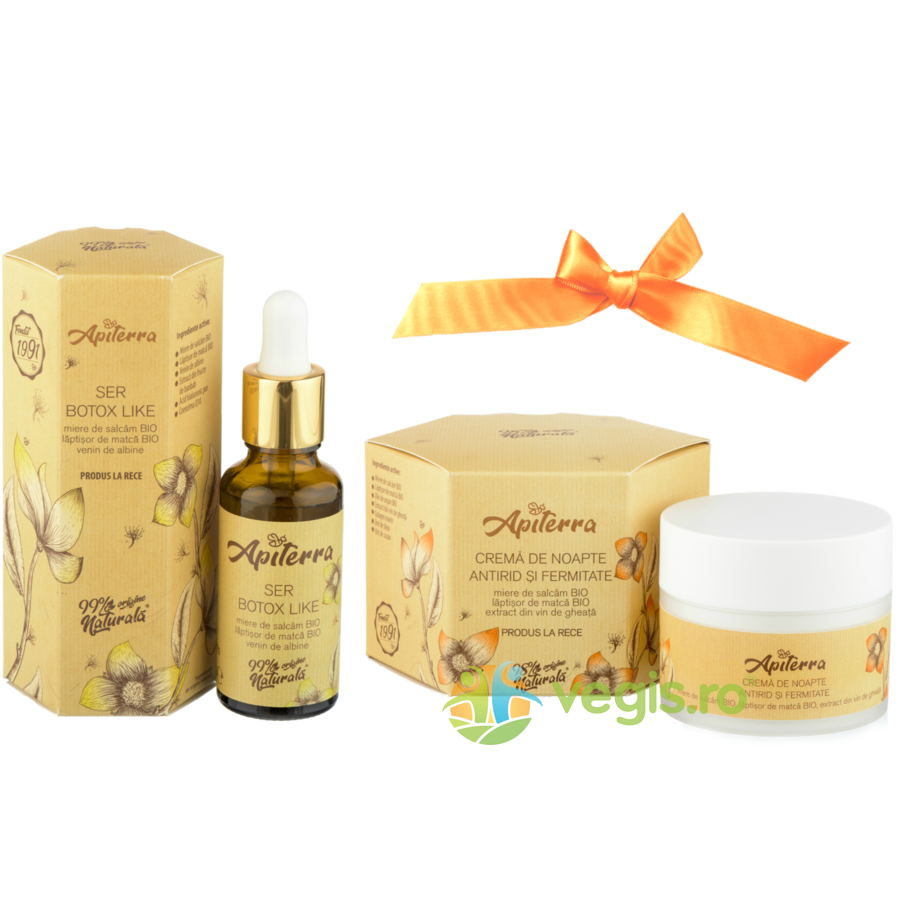 Pachet Ser Lifting Beetox 30ml+Crema de Noapte Antirid 50ml