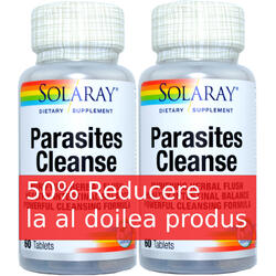 Parasites Cleanse 60cps1+1-50% SOLARAY