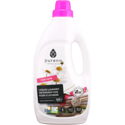 Detergent Lichid pentru Rufele Copiilor cu Musetel Eco/Bio 1L PURENN