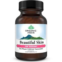 Beautiful Skin Ten Radiant 60cps veg ORGANIC INDIA