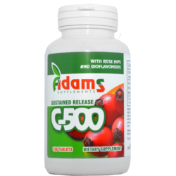 Vitamina C 500mg Macese 150tb ADAMS VISION
