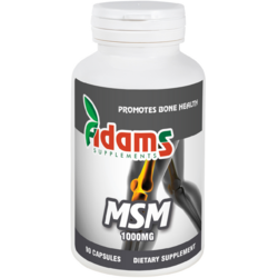 MSM 1000mg 90cps ADAMS VISION