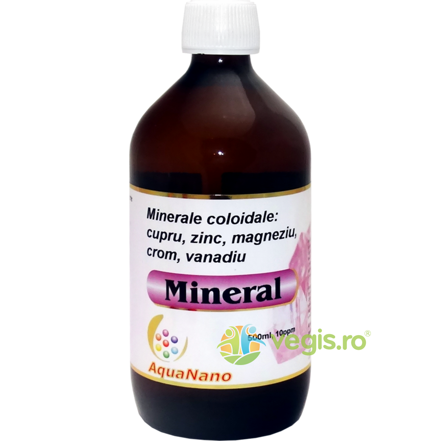 AGHORAS Mineral Aquanano (10ppm) 500ml