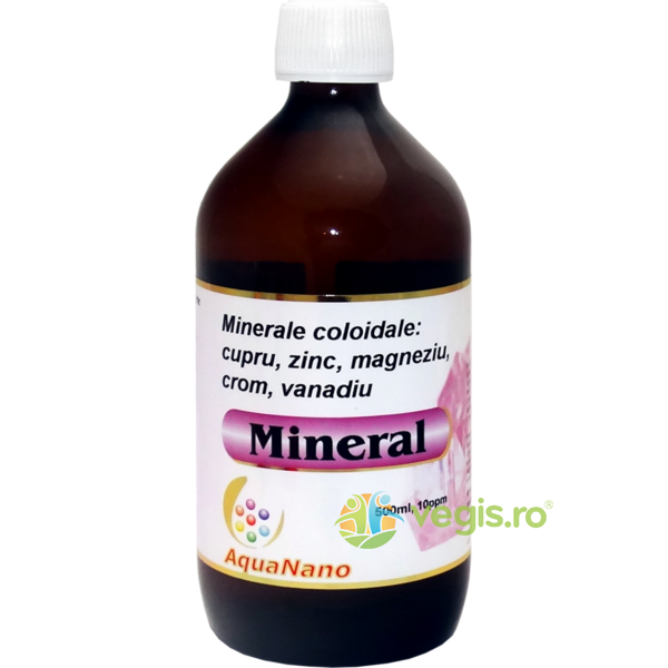 Mineral Aquanano (10ppm) 500ml AGHORAS