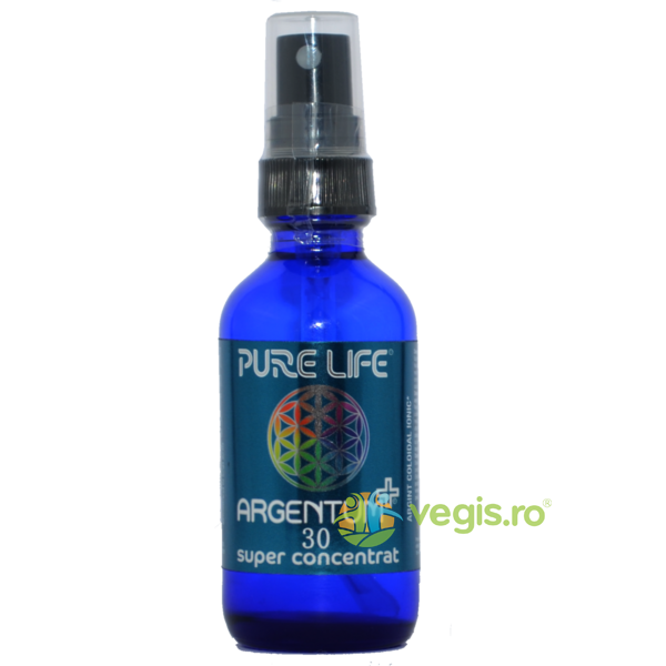 Argentum Super Concentrat 30ppm (480ml+60ml) Pachet 1+1 PURE LIFE