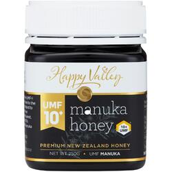 Miere de Manuka Premium UMF +10 250g HAPPY VALLEY