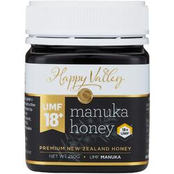 Miere de Manuka Premium UMF +18 250g HAPPY VALLEY
