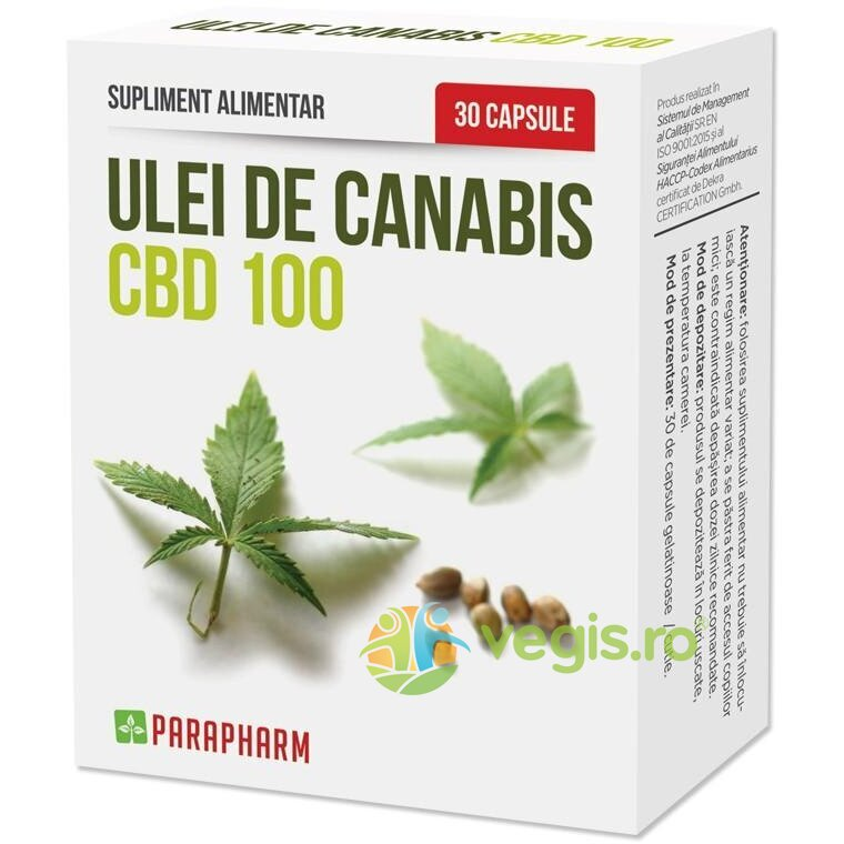 Ulei de Canabis CBD oil 30Cps imagine