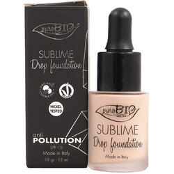 Fond de Ten Sublime Drop Foundation n.02 15ml PUROBIO COSMETICS