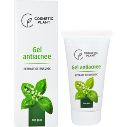 Gel Antiacnee cu Extract de Busuioc 30ml COSMETIC PLANT