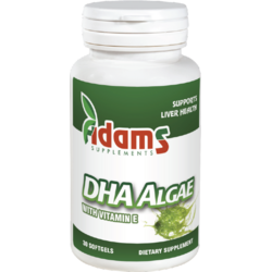 DHA Algae 200mg 30cps ADAMS VISION