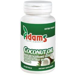 Coconut Oil 1000mg 30cps ADAMS VISION