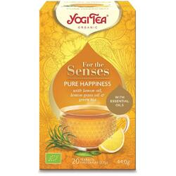 Ceai Pure Happiness - For The Senses Ecologic/Bio 20dz YOGI TEA