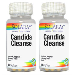Candida Cleanse 60cps Pachet 1+1 SOLARAY