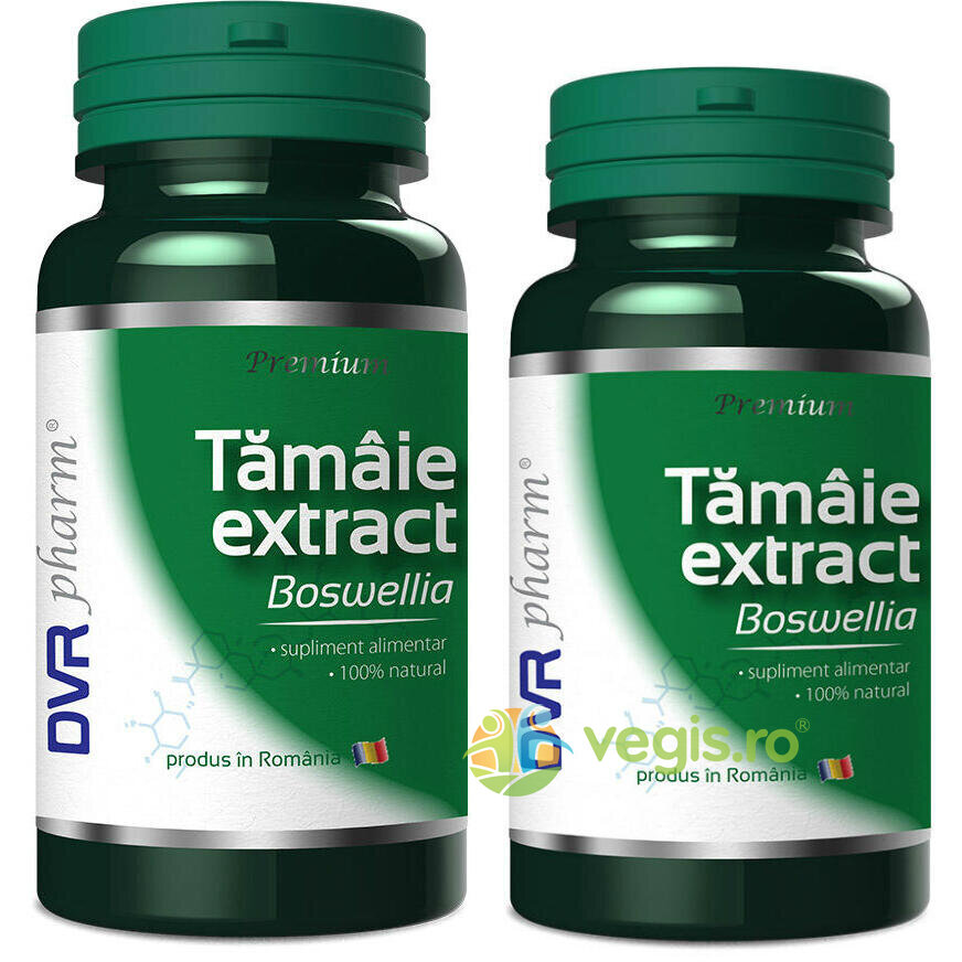 Tamaie Extract (Boswellia) Pachet 60cps + 30cps