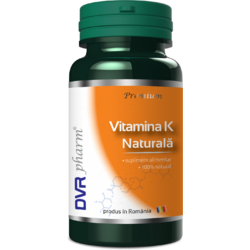 Vitamina K Naturala 60cps DVR PHARM
