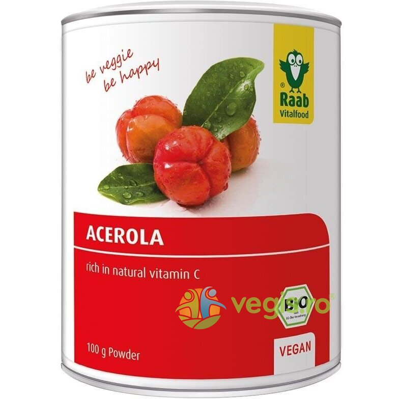 Acerola Pulbere Ecologica/Bio 100g thumbnail