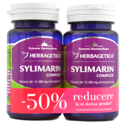 Sylimarin Complex (Silimarina) 30Cps Pachet 1+1-50% HERBAGETICA