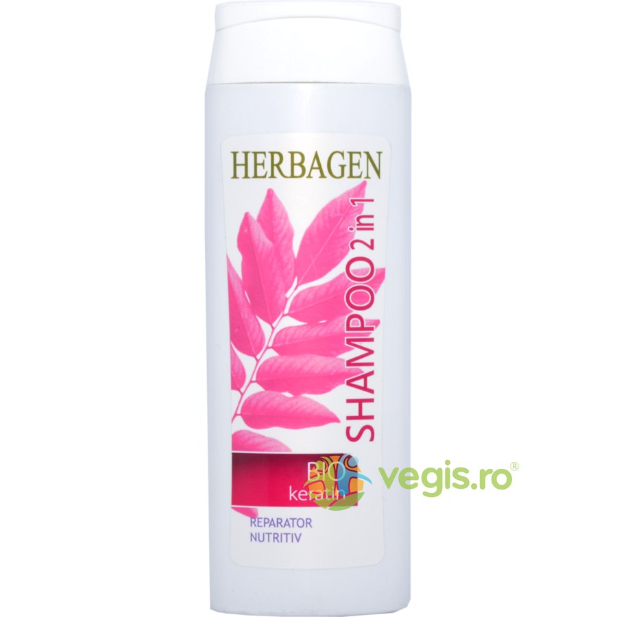 HERBAGEN Sampon 2in1 cu Bio Keratina 250ml