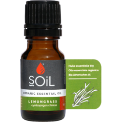 Ulei Esential de Lemongrass Ecologic/Bio 10ml SOiL