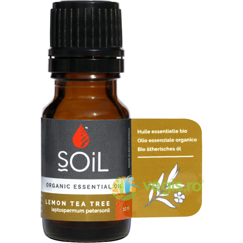 SOiL Ulei Esential de Arbore de Ceai Lamaios (Lemon Tea Tree) Ecologic/Bio 10ml