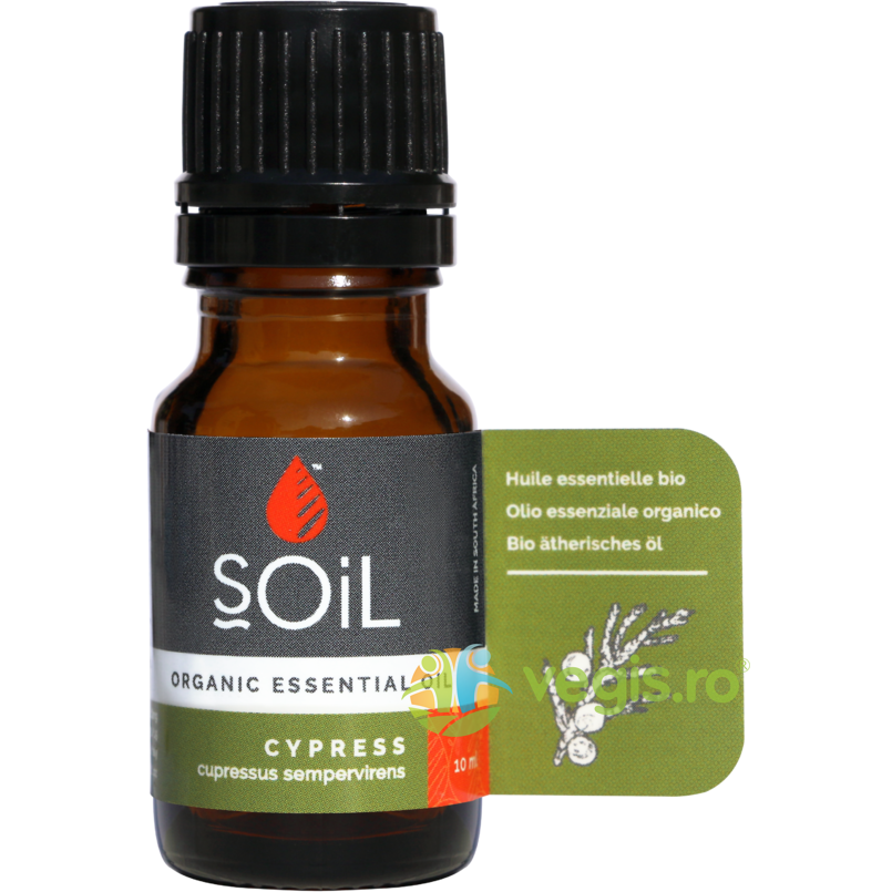 SOiL Ulei Esential de Chiparos (Cypress) Ecologic/Bio 10ml