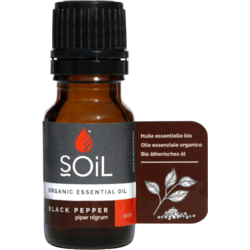 Ulei Esential de Piper Negru (Black Pepper) Ecologic/Bio 10ml SOiL