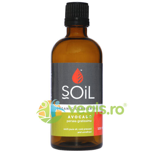 Ulei Baza Avocado Ecologic/Bio 100ml thumbnail
