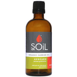 Ulei Baza Avocado Ecologic/Bio 100ml SOiL