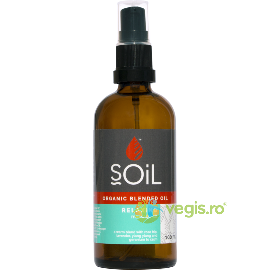 SOiL Ulei Blend Masaj Relaxing Ecologic/Bio 100ml