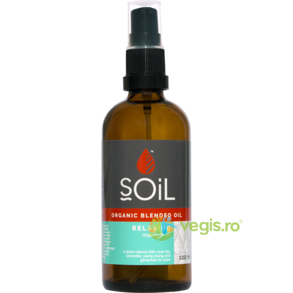 Ulei Blend Masaj Relaxing Ecologic/Bio 100ml SOiL