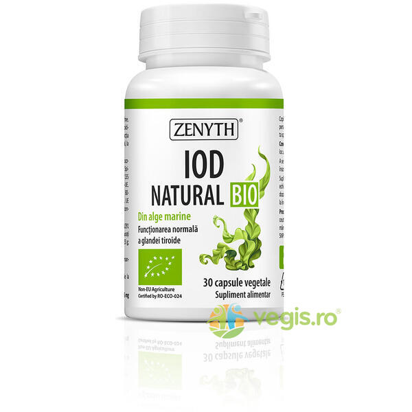 Iod Natural Ecologic/Bio 30cps ZENYTH PHARMA