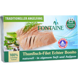 File de Ton in Suc Propriu 120g FONTAINE
