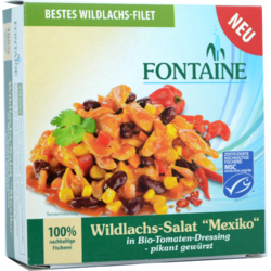 Salata Mexicana cu Somon Salbatic 200g FONTAINE